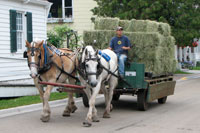 Fuel Delivery on Mackinac Island