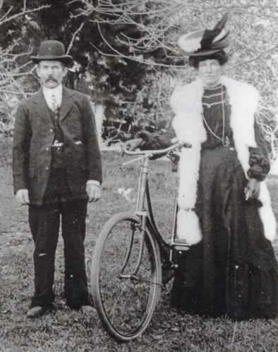 James Scarlett and Mary Mulvey