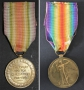 Allied Victory Medal awarded to William Ernest Moffat