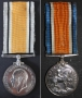 British War Medal awarded to William Ernest Moffat