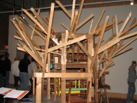 Is This Climactic? - A Crazy composition of new wood and old furniture