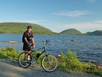 Roger, the Bicycle and Eagle Lake