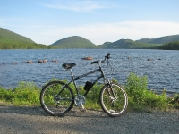 Eagle Lake and the Bicycle