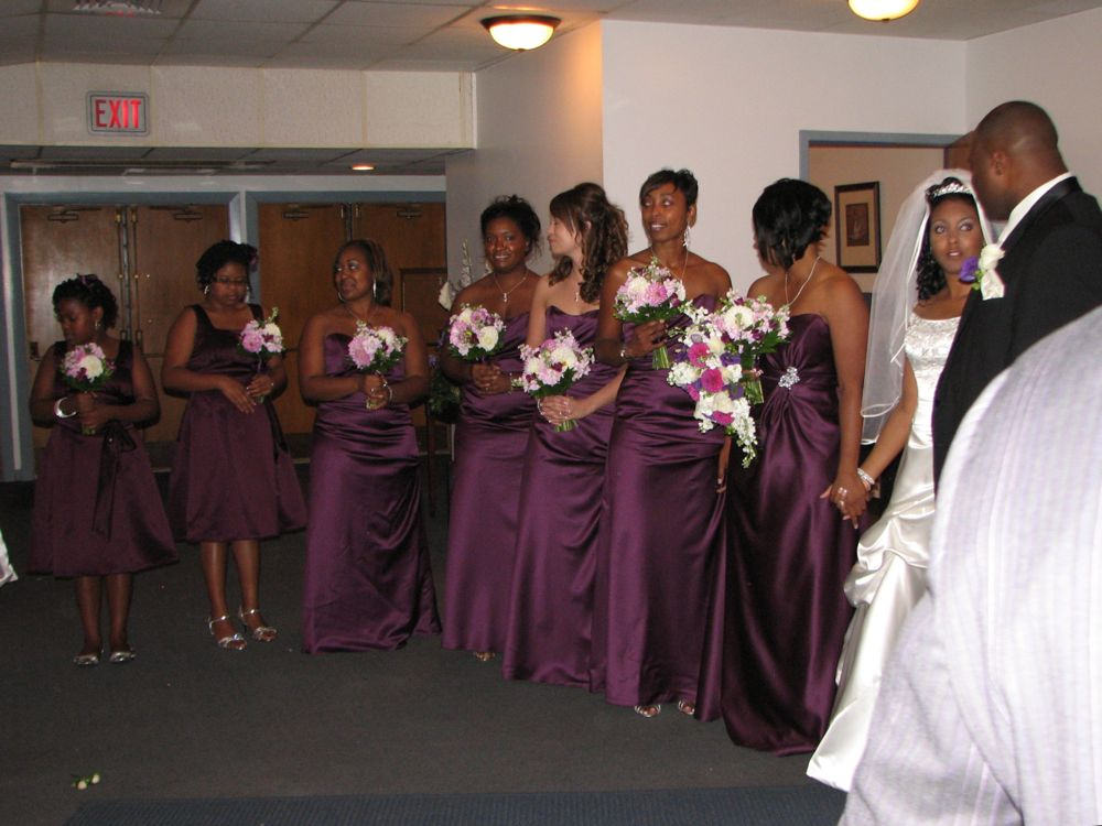 The Receiving Line Female End