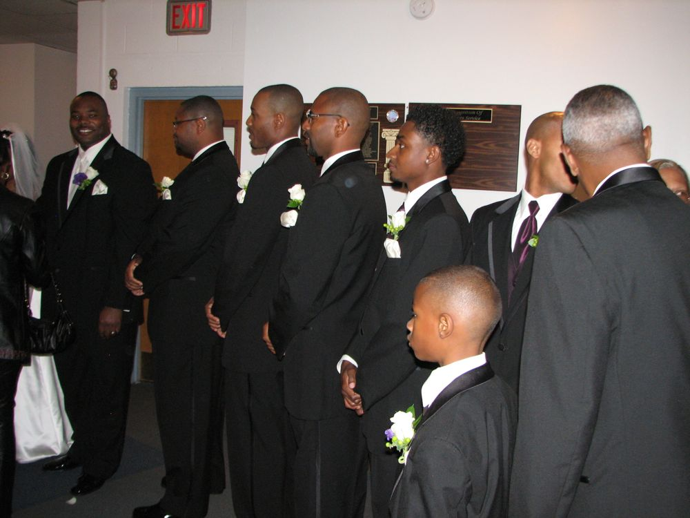 The Receiving Line Male End