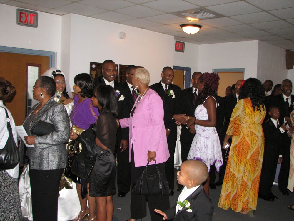 The Colourful Receiving Line