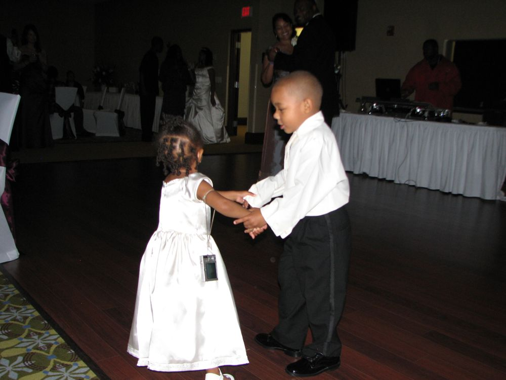 The Cute Little Dancers - Justin Short and Anala Millbrooks