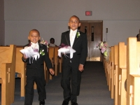 Ring Bearers Justin & Jalen Short