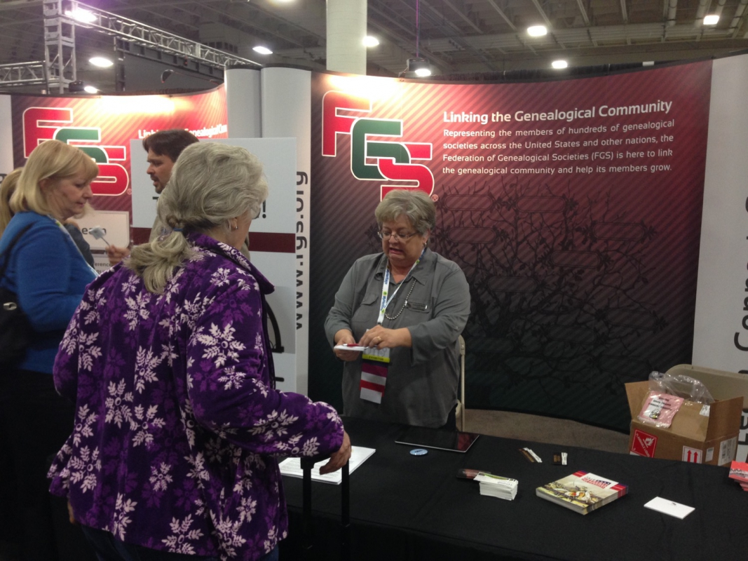 The Federation of Genealogical Societies Booth