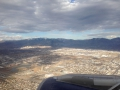 Salt Lake City in the distance - right in the sunlight