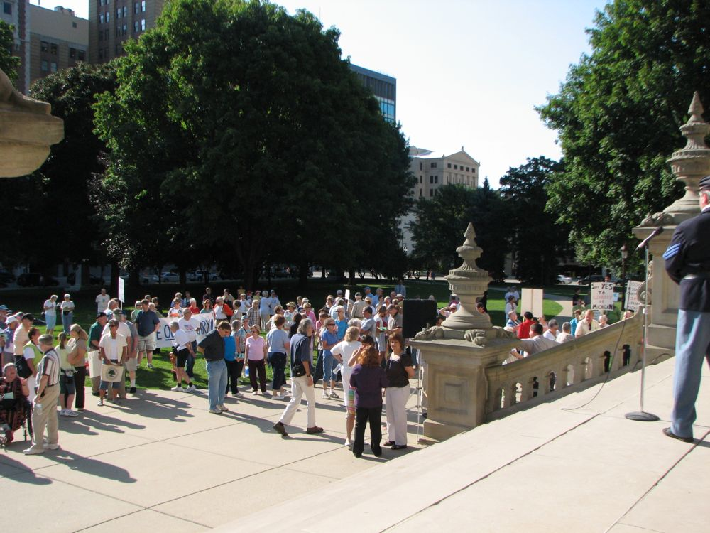 The View from the Steps - Right