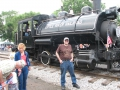 Don and the Little River Railroad Engine