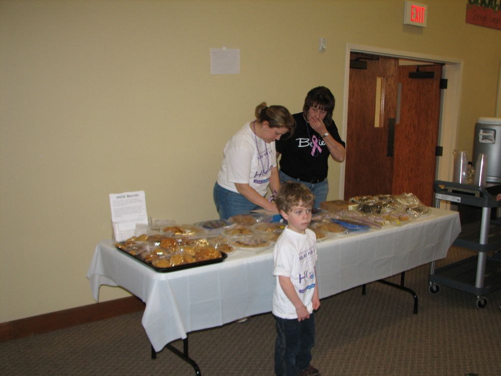 The Bake Sale Table